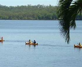 Lake Bennett Resort - Accommodation Main Beach
