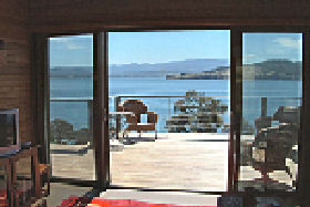 Bruny Island Accommodation Services - Captains Cabin - Accommodation Main Beach