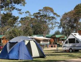BIG4 Moruya Heads Easts at Dolphin Beach Holiday Park - Accommodation Main Beach