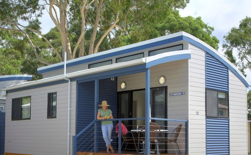 Shoal Bay Holiday Park - Port Stephens - Accommodation Main Beach