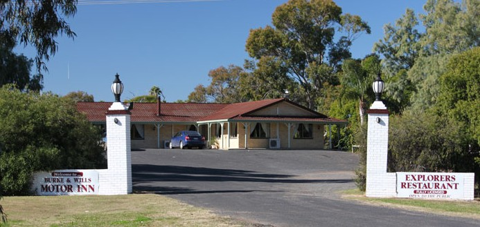 Burke and Wills Motor Inn - Moree - Accommodation Main Beach