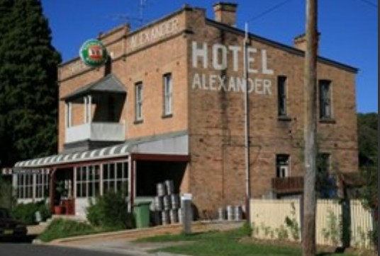 Alexander Hotel Rydal - Accommodation Main Beach