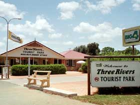 Mundubbera Three Rivers Tourist Park - Accommodation Main Beach