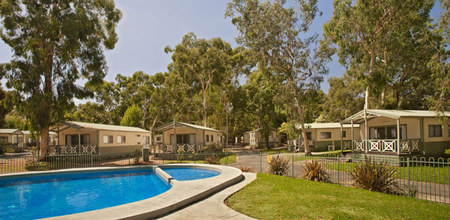 Crystal Brook Tourist Park - Accommodation Main Beach