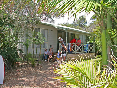 One Mile Beach Holiday Park - Accommodation Main Beach