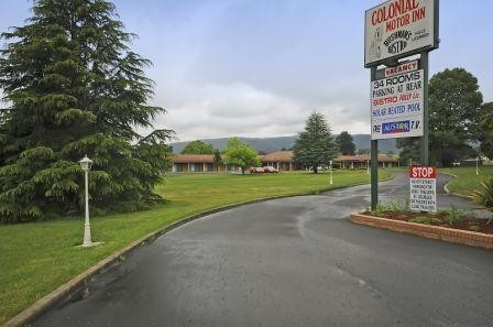 Colonial Motor Inn - Lithgow - Accommodation Main Beach