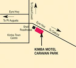 Kimba Motel Caravan Park - Accommodation Main Beach