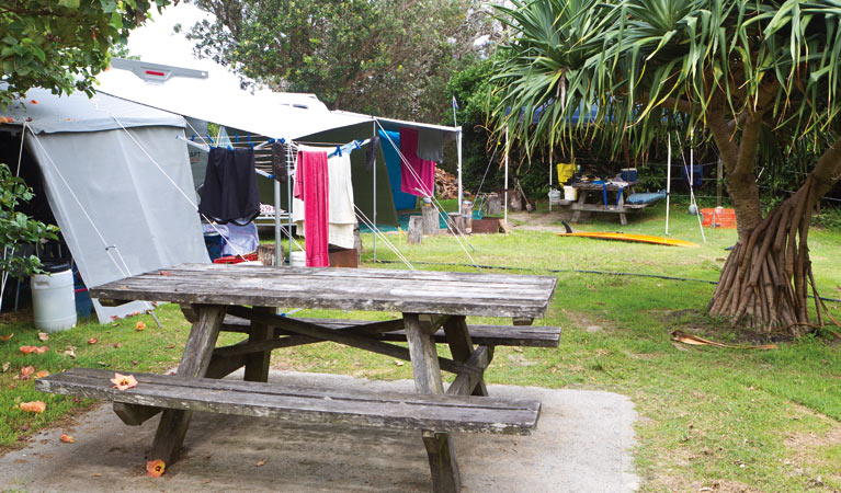 Sandon River campground - Accommodation Main Beach