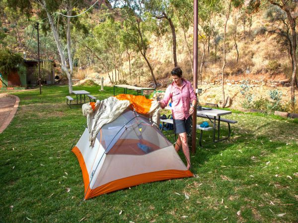 Standley Chasm Angkerle Camping - Accommodation Main Beach