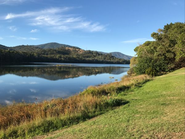 Eildon Pondage Holiday Park - Accommodation Main Beach