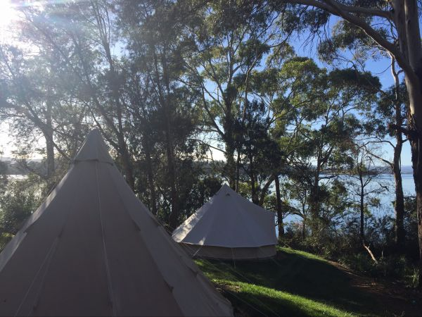 Wingtons Glamping Clarence Point - Accommodation Main Beach