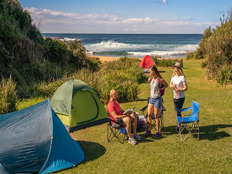 Little Beach campground - Accommodation Main Beach