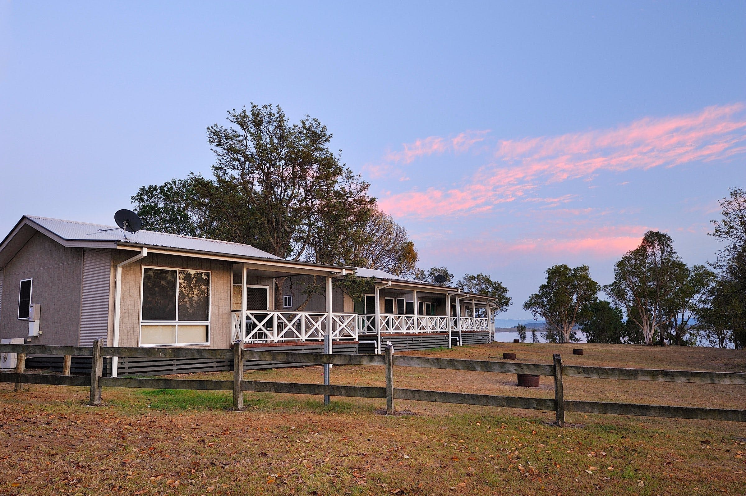 NRMA Lake Somerset Holiday Park - Accommodation Main Beach