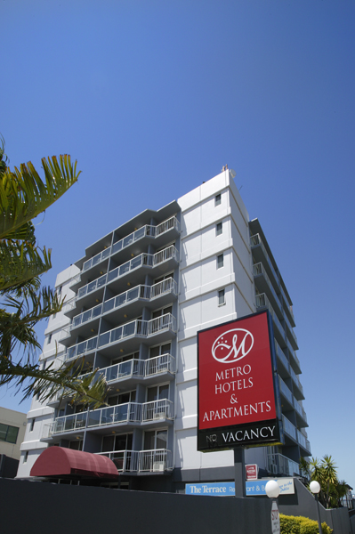Metro Hotel  Apartments Gladstone - Accommodation Main Beach
