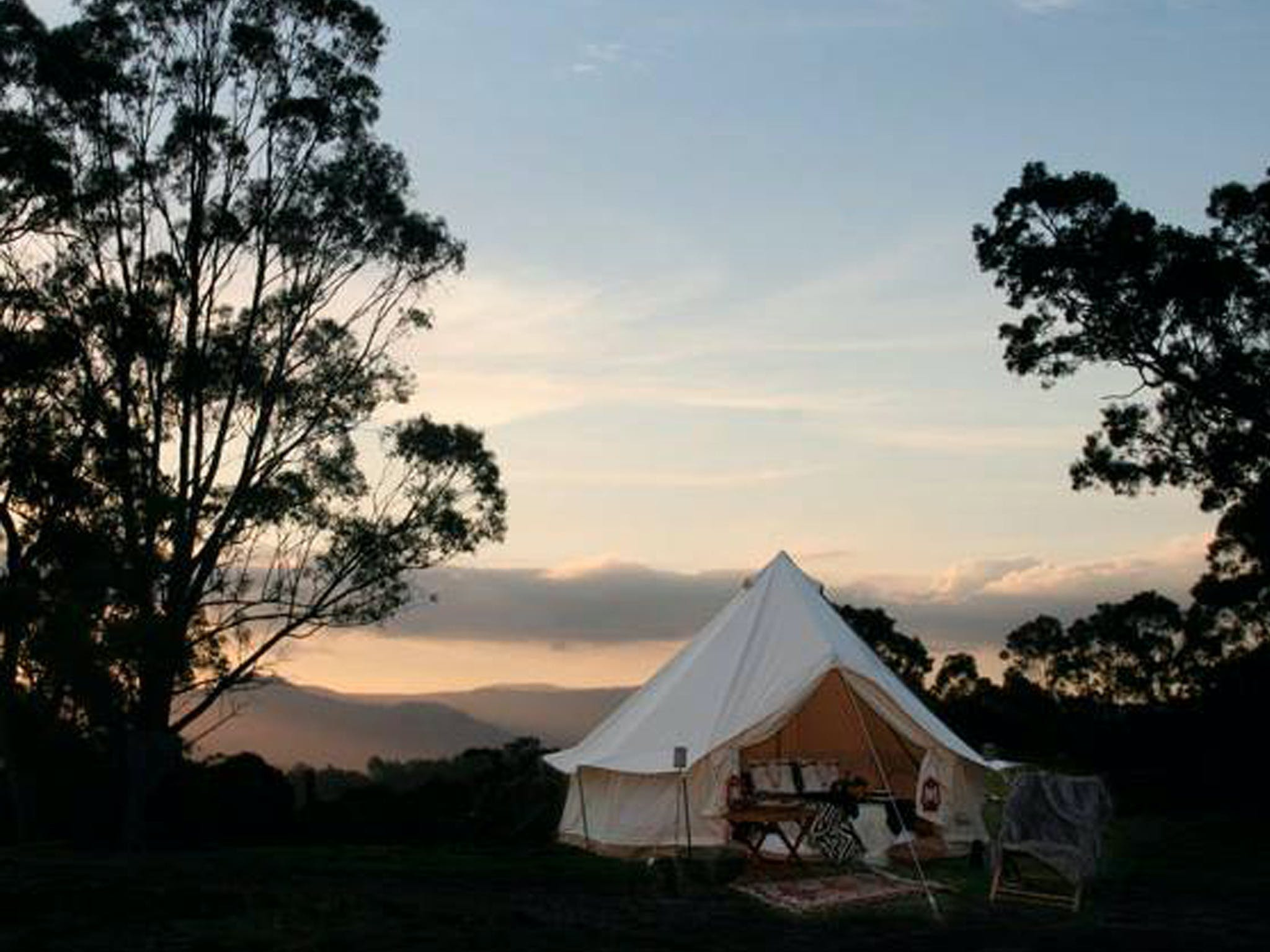 Megalong Valley Glamping - Accommodation Main Beach