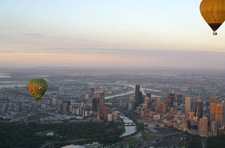 Balloon Flights Over Melbourne