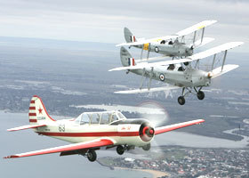 Vintage Tiger Moth Joy Flights - Accommodation Main Beach