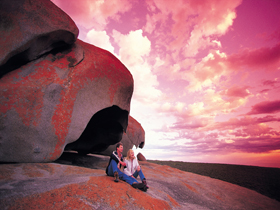 Remarkable Rocks Flinders Chase National Park - Accommodation Main Beach