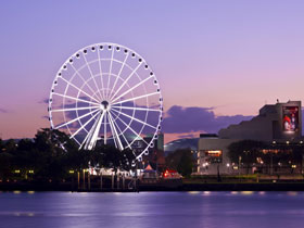 The Wheel of Brisbane - Accommodation Main Beach