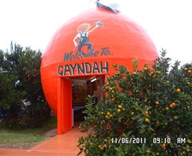 Gayndahs Big Orange