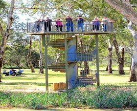 Darling and Murray River Junction and Viewing Tower - Accommodation Main Beach
