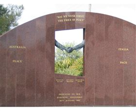 Cowra Italy Friendship Monument - Accommodation Main Beach