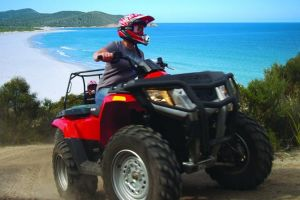 Half-Day Guided ATV Exploration Tour from Coles Bay - Accommodation Main Beach