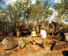 The Lost City - Litchfield National Park - Accommodation Main Beach