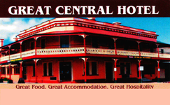 Great Central Hotel - Accommodation Main Beach