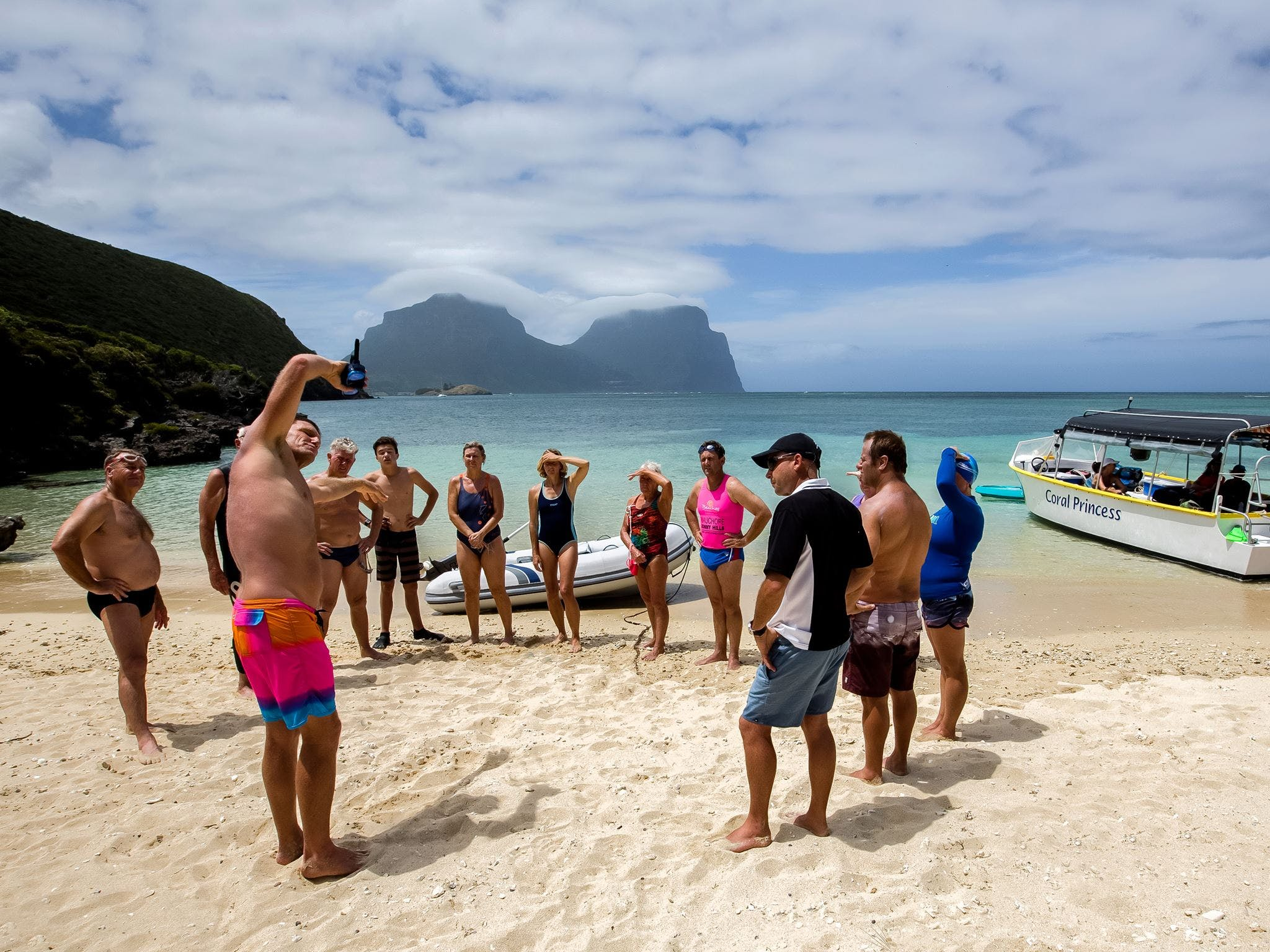 Ocean Swim Week with Trevor Hendy Pinetrees Lord Howe Island - Accommodation Main Beach
