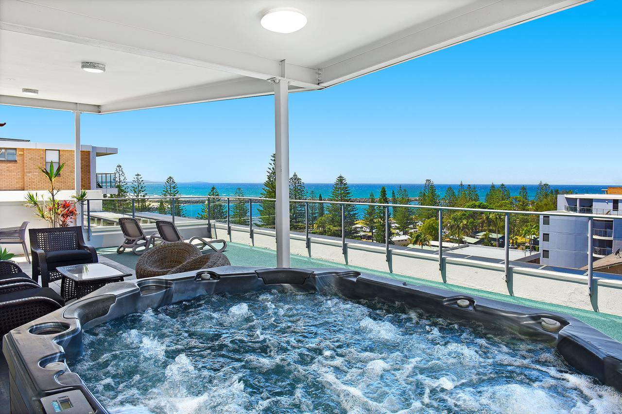 Macquarie Waters Boutique Apartment Hotel - Accommodation Main Beach